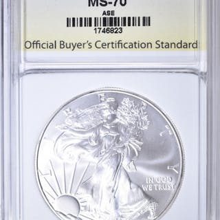 2010 AMERICAN SILVER EAGLE OBCS PERFECT GEM BU