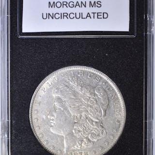 1878 7 TF REV 79 MORGAN DOLLAR UNC