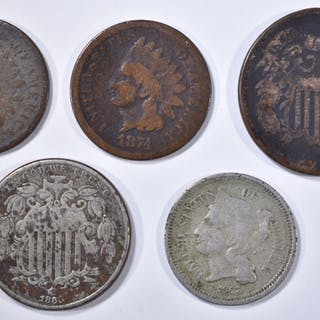 5 COIN LOT: