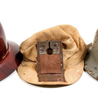 Miners Helmets / 3 Items. 106292