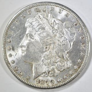 1879-S REV OF 78 MORGAN DOLLAR BU