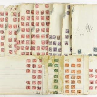 Estate Lot - Queen Victoria Stamps