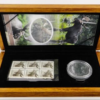 2004 Moose and Mint Stamp Set LE .9999 Fine Silver