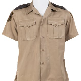 Cocoa Beach Police uniform shirt from I Dream of Jeannie.