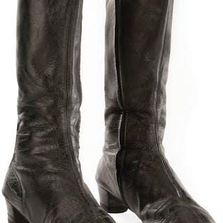 Nichelle Nichols 'Uhura' boots from Star Trek: The Original Series.