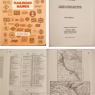 Railroad Names Hardcover by Edson #76519