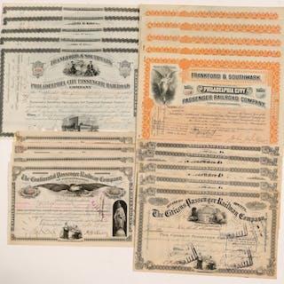 Pennsylvania Railroad Stocks (19) #106120