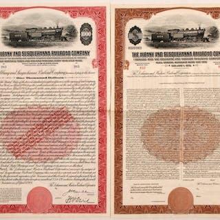 Albany and Susquehanna Railroad Company Bonds #81527