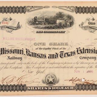 Missouri, Kansas and Texas Extension Co. #106310