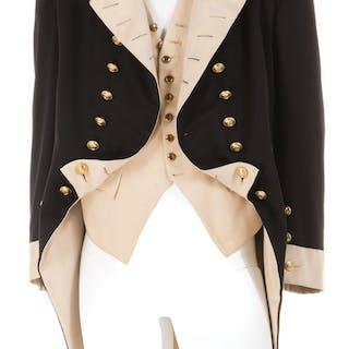 Charles Laughton 'Captain Bligh' Royal Navy officer coat and vest