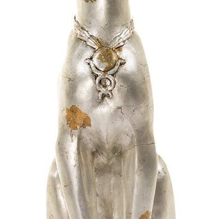 Elizabeth Taylor 'Cleopatra' (2) screen-used sphinx cat statues also