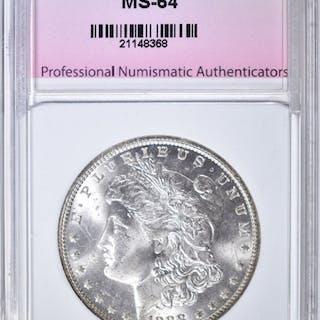 1888-O MORGAN DOLLAR, PNA CH/GEM BU
