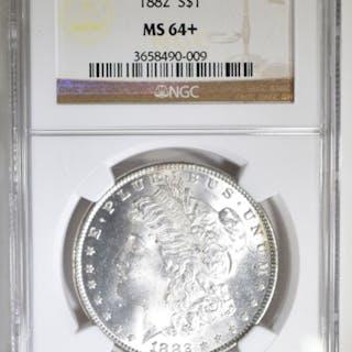 1882 MORGAN DOLLAR NGC MS-64+