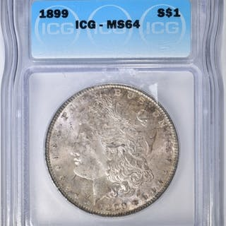 1899 MORGAN DOLLAR ICG MS-64
