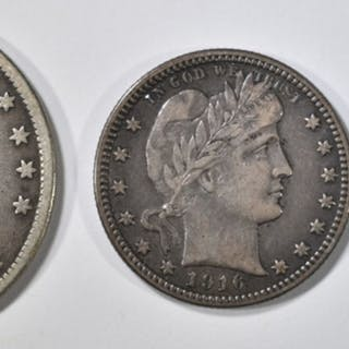 LOT OF 3 TYPE COINS: