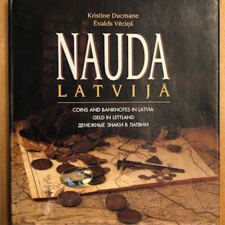 Ducmane, Kristine and Evalds Vecins. Nauda Latvija / Coins and Banknotes
