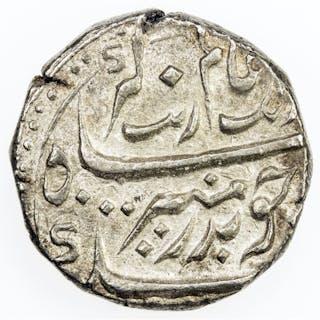 MADRAS PRESIDENCY: AR rupee (11.61g), Chinapattan, year 51, Stv-2.14