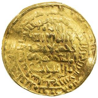 ZANGIDS OF SHAHRAZUR: Nur al-Din Il-Arslan, 1234-1251, AV dinar (7.38g)