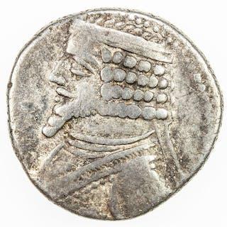 PARTHIAN KINGDOM: Phraates IV, 38-2 BC, AR tetradrachm (14.17g), Seleukeia