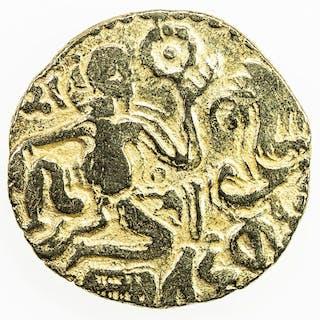CEYLON: Medieval: Anonymous, 990-1070, AV kahavanu (4.35g). EF