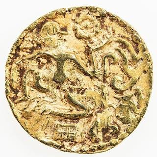 CEYLON: Medieval: Anonymous, 990-1070, AV kahavanu (4.43g). EF