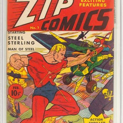 Zip Comics #1