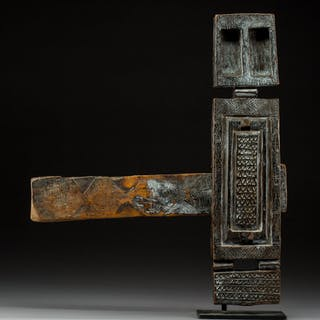 A Large Dogon Granary Door Lock Mali ...