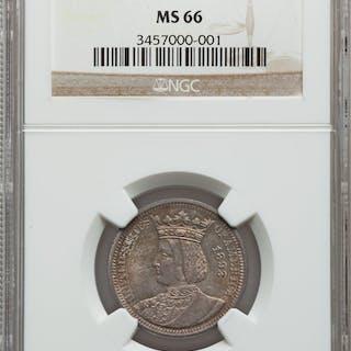 1893 25C Isabella Quarter
