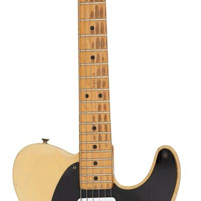 Graham Nash's 1952 Fender Black-Guard Telecaster Blonde Solid Body