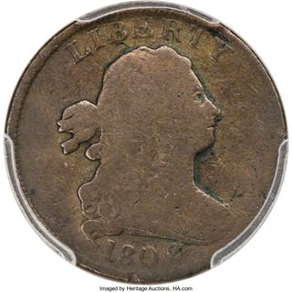 1802/O 1/2 C Reverse of 1800, C-1, BN, MS
