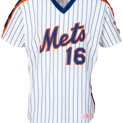 reputable site 18f5f 97c91 1986 Dwight Gooden Game Worn New York Mets Jersey. | Barnebys