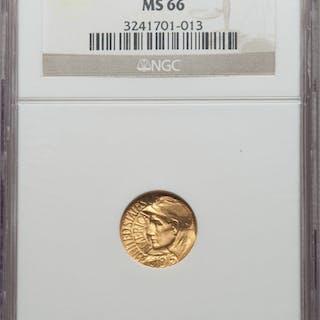 1915-S G$1 PAN-PAC Gold Dollar, MS