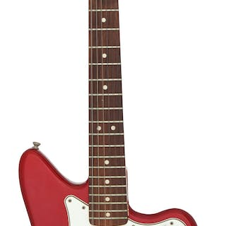Circa 1965/1966 Fender Electric XII Candy Apple Red Solid Body Electric