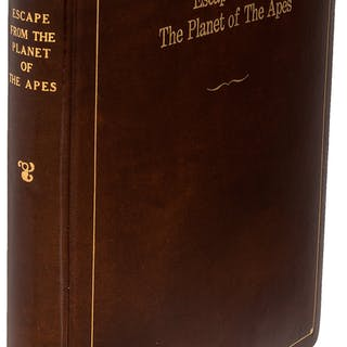 Escape From the Planet of the Apes Original Leather Bound Presentation