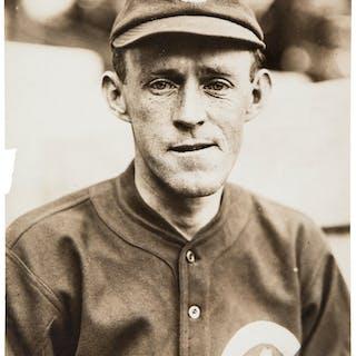 1910's Johnny Evers Original Photograph by Charles Conlon, PSA/DNA Type 1.