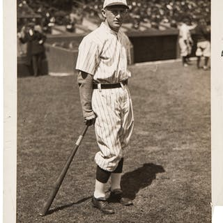1920's Frankie Frisch Original Photograph by Paul Thompson, PSA/DNA Type 1.