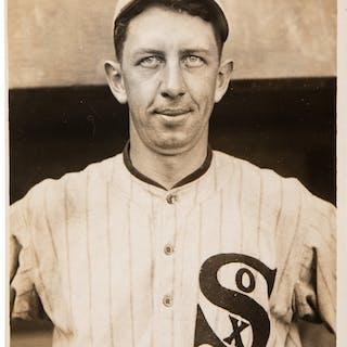 1917 Eddie Collins Original Photograph by Paul Thompson, PSA/DNA Type 1.