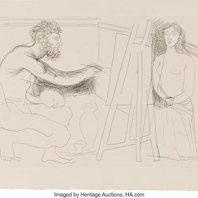 [Picasso]. Honoré de Balzac. LE CHEF-D'OEUVRE INCONNU. Paris: Ambroise