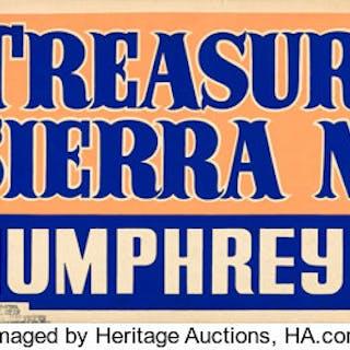 The Treasure of the Sierra Madre (Warner Brothers, 1948)