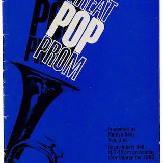 The Beatles Royal Albert Hall Concert Program, September 15, 1963