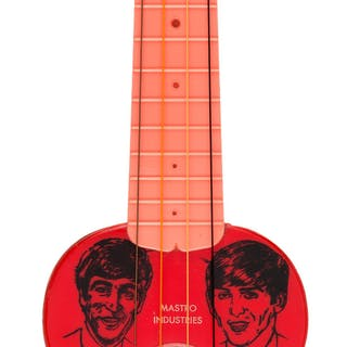 The Beatles Mastro Four Pop Ukulele Guitar (1964). ...