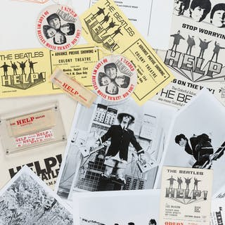 The Beatles Help!United Artists Press Information Kit in the Original