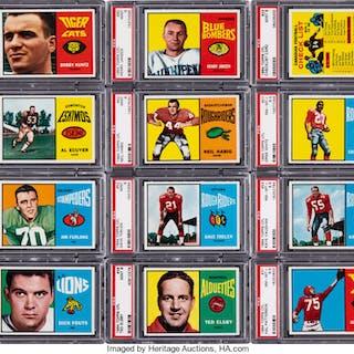 1964 Topps CFL Complete Set (88) - #4 on the PSA Set Registry.