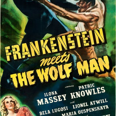 Frankenstein Meets the Wolf Man (Universal, 1943)