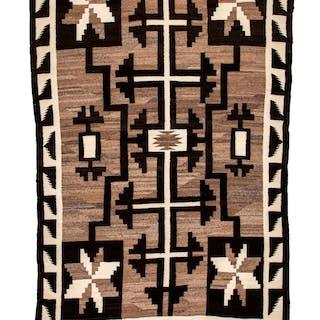A Navajo Regional Rug c. 1950...