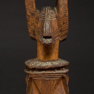 An Igbo Ikenga Figure Nigeria...