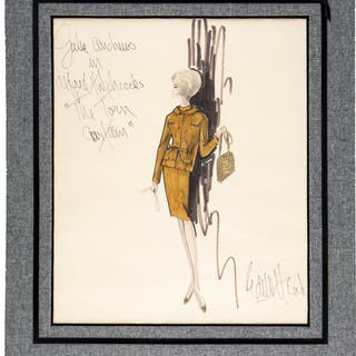 Julie Andrews Torn Curtain Costume Design By Edith Head (1966).  ...