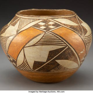 An Acoma Polychrome Jar ...
