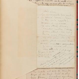 Tristan Tzara. Autograph Manuscripts on Dada.  [Paris?]; [circa 1920s]. ...