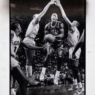 1988 Michael Jordan Original Photograph, PSA/DNA Type 1.
